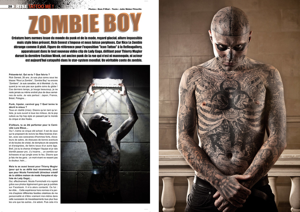 Rise Tattoo Magazine #16