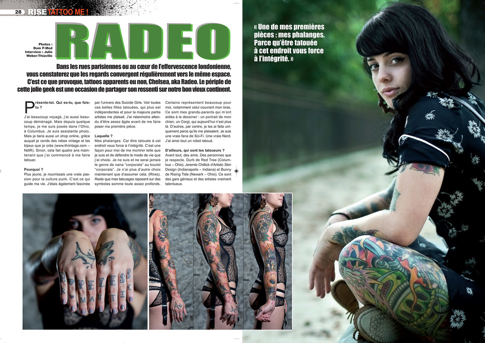 Rise tattoo magazine#17