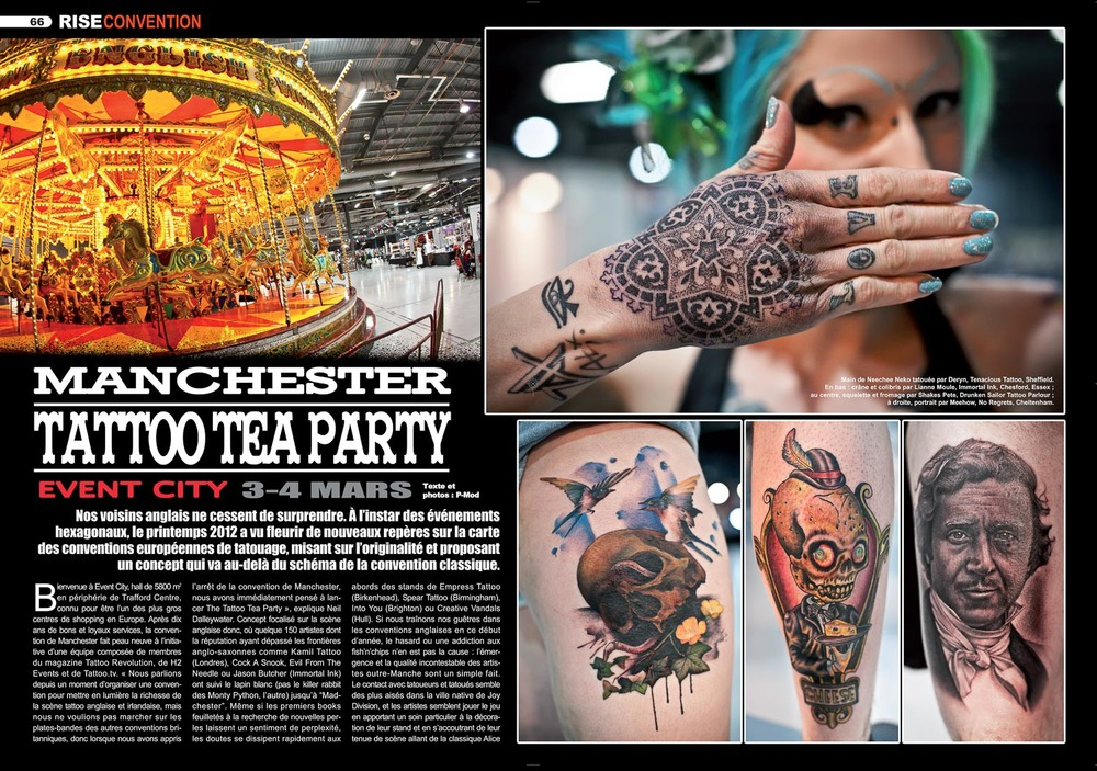 Rise Tattoo magazine #20