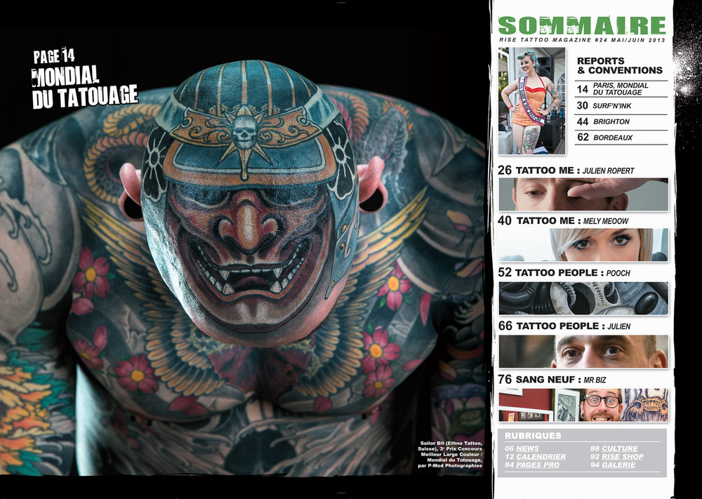Rise Tattoo Magazine #24