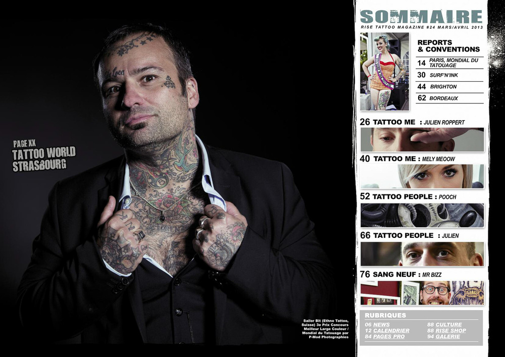 Rise Tattoo Magazine#25 / Sample