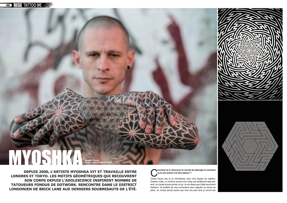 Rise Tattoo Magazine #27 / Sample