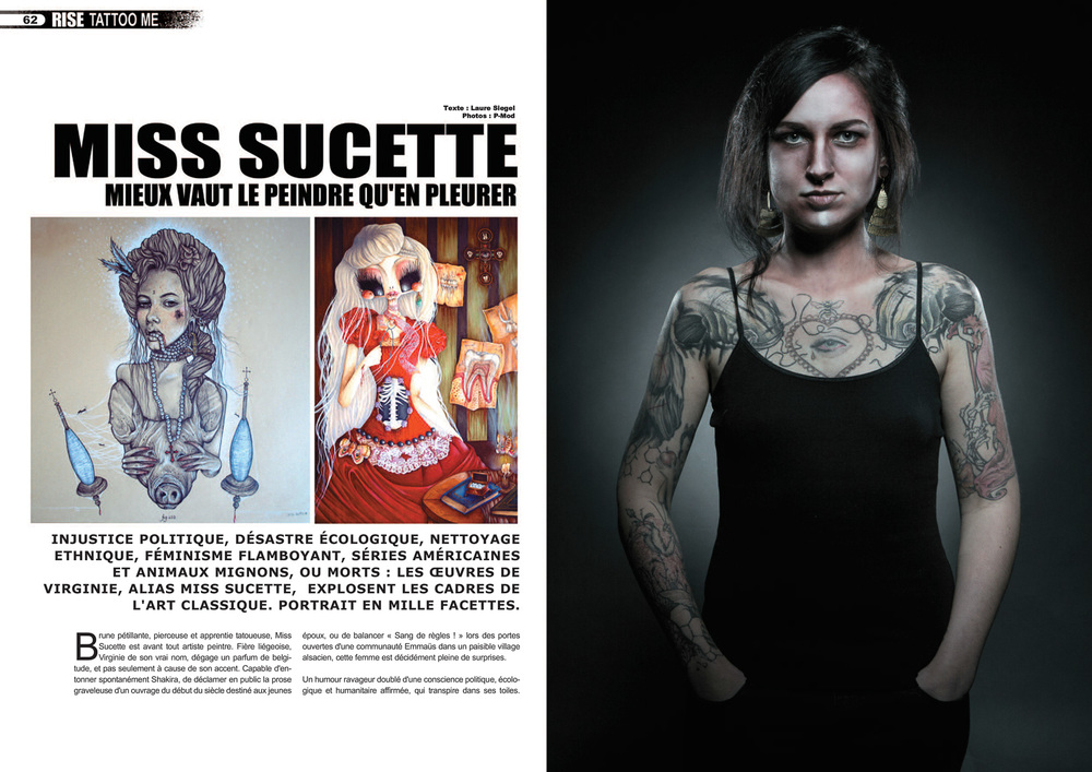 Rise Tattoo Magazine #28 / Miss Sucette