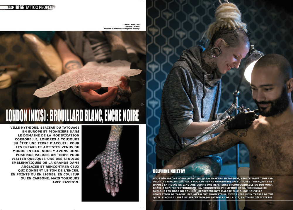 Rise tattoo Magazine #30 - Sample