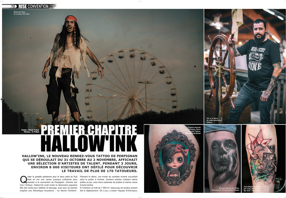 Rise Tattoo Magazine #34 - Hallow'Ink
