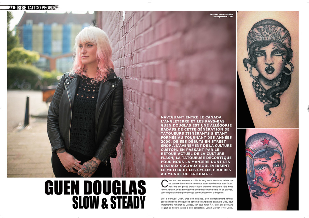 Rise Tattoo Magazine #35 - Guen Douglas