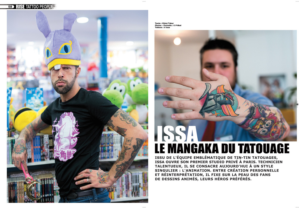 Rise tattoo Magazine #36 - Issa