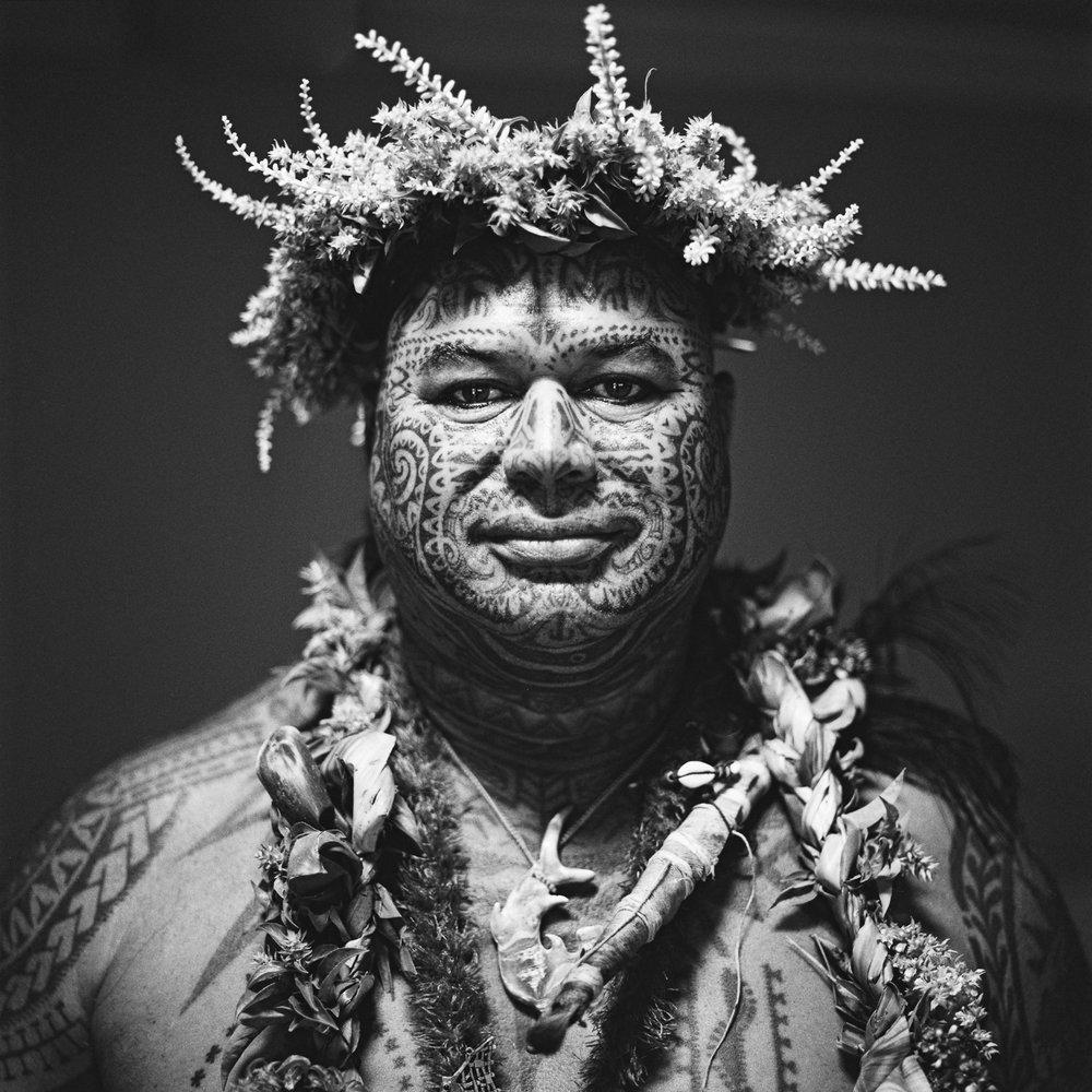 Chef Miko - Ouverture du Polynesian Tatau Festival, Tahiti 2016