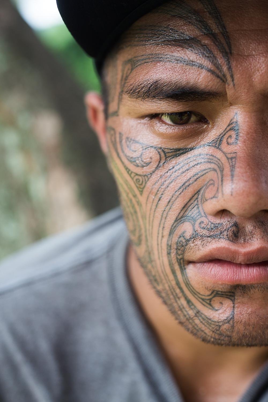 Morohi inked by Tamoko, NZ - Tahiti 2016