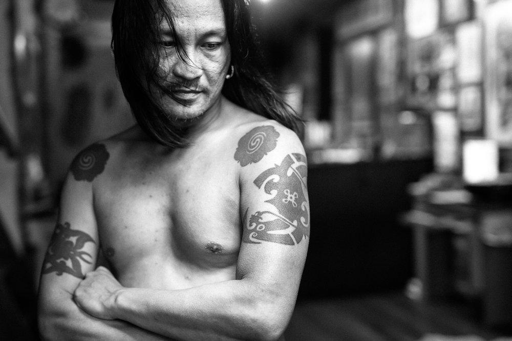 Ernesto Kalum - Borneo Headhunters,  Bornéo - Décembre 201