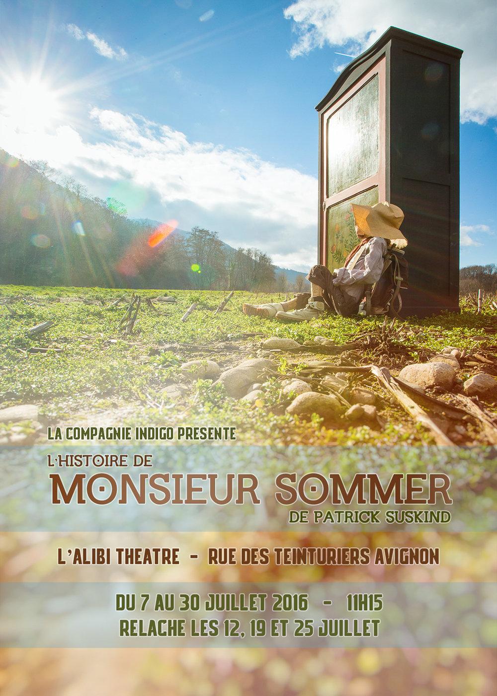 Cie Indigo - L'histoire de Monsieur Sommer - 2016