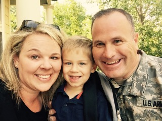Brian and Jenna Friedman will be leading this group (pictured with their son, Michael)