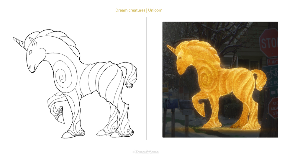 Dream Unicorn design and surfacing