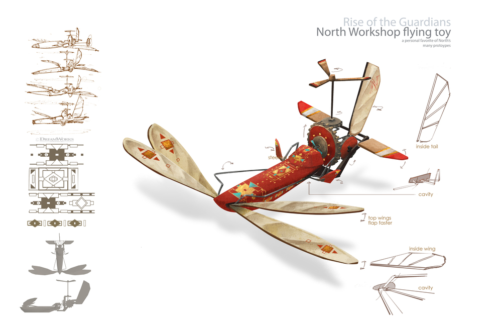 North Workshop flying toy