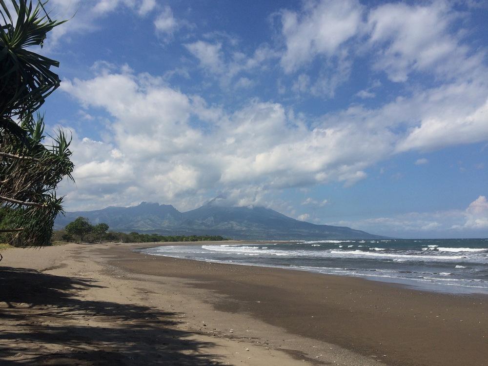 Mbalata beach.
