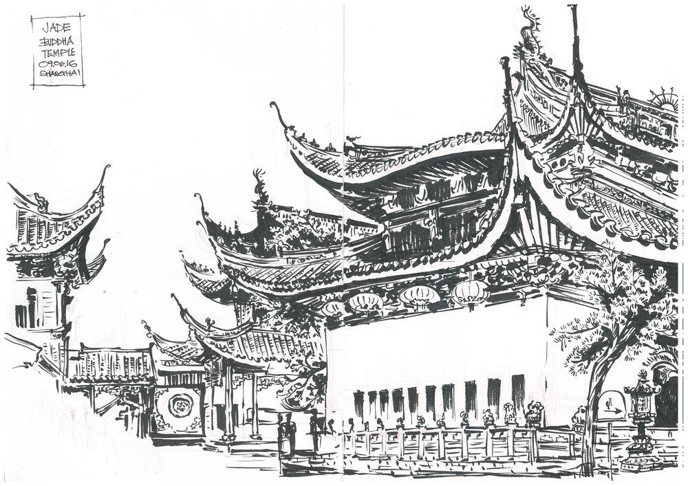 Shanghai_Jade Buddha temple