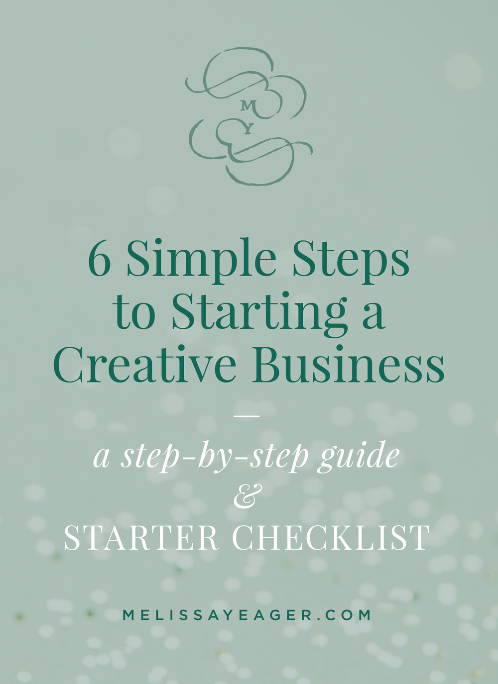 6 Simple Steps to Starting a Creative Business - a step-by-step guide & starter checklist