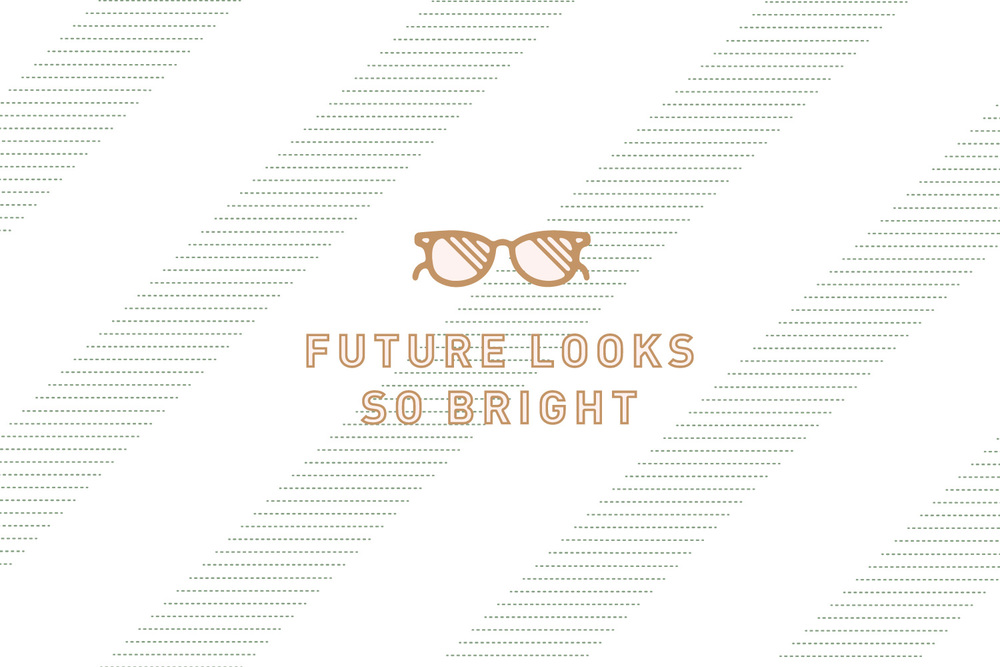 Plain Janell - Future Looks So Bright - Designed by Melissa Yeager