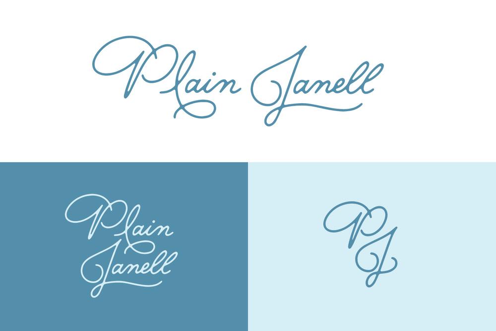 Plain Janell - Logo Variations