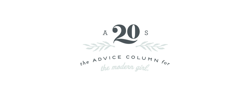 Advice from a 20 Something - Logo + Brand Identity Design