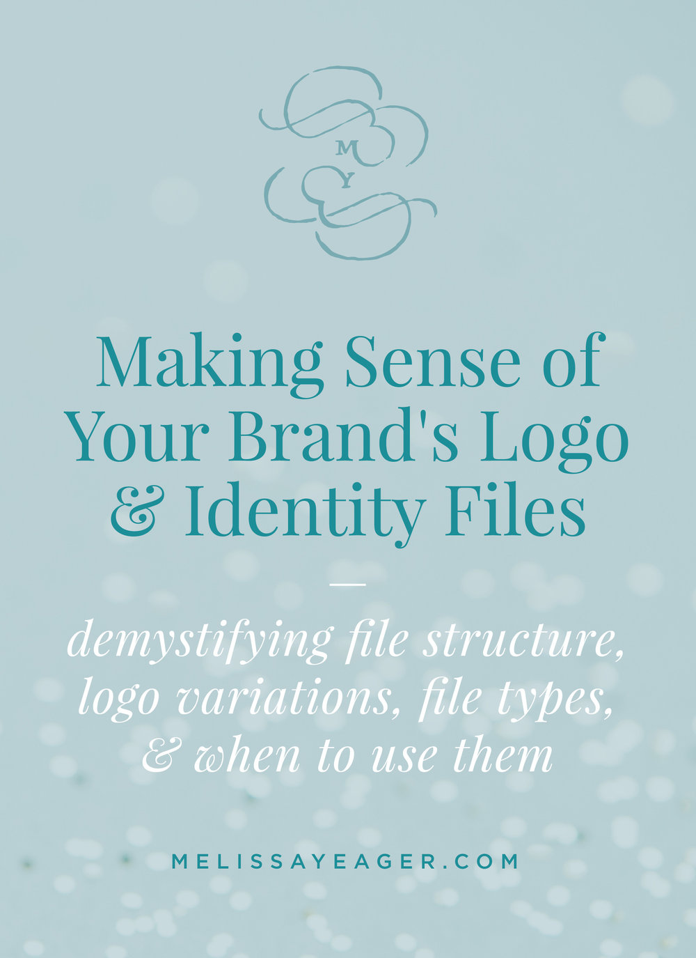 Making Sense of Your Brand's Logo & Identity Files - Demystifying file structure, logo variations, file types, & when to use them