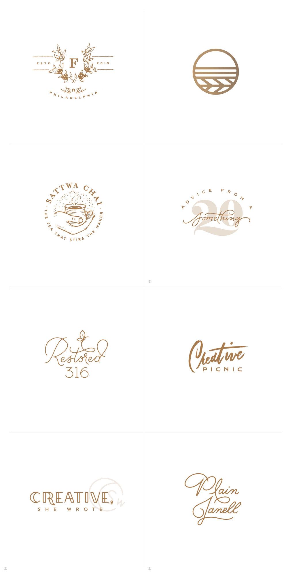 2016 Logo Designs - Melissa Yeager