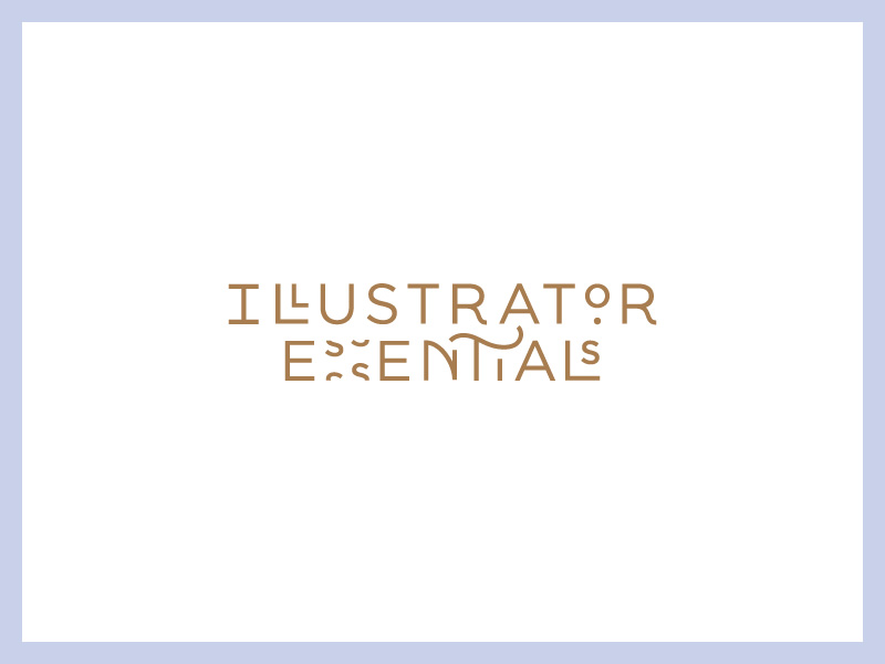 Illustrator Essentials - Logo Design