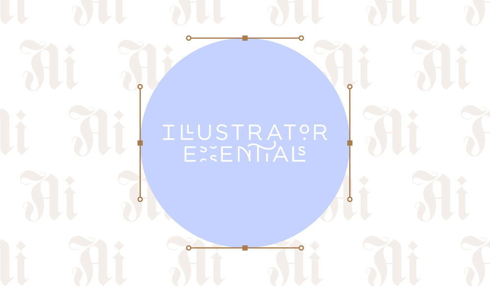 Illustrator Essentials - logo crafted by Melissa Yeager