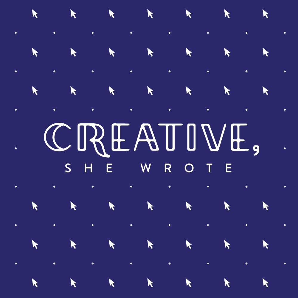 Creative, She Wrote - Logo by Melissa Yeager
