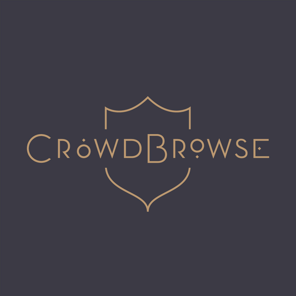 CrowdBrowse - Logo by Melissa Yeager