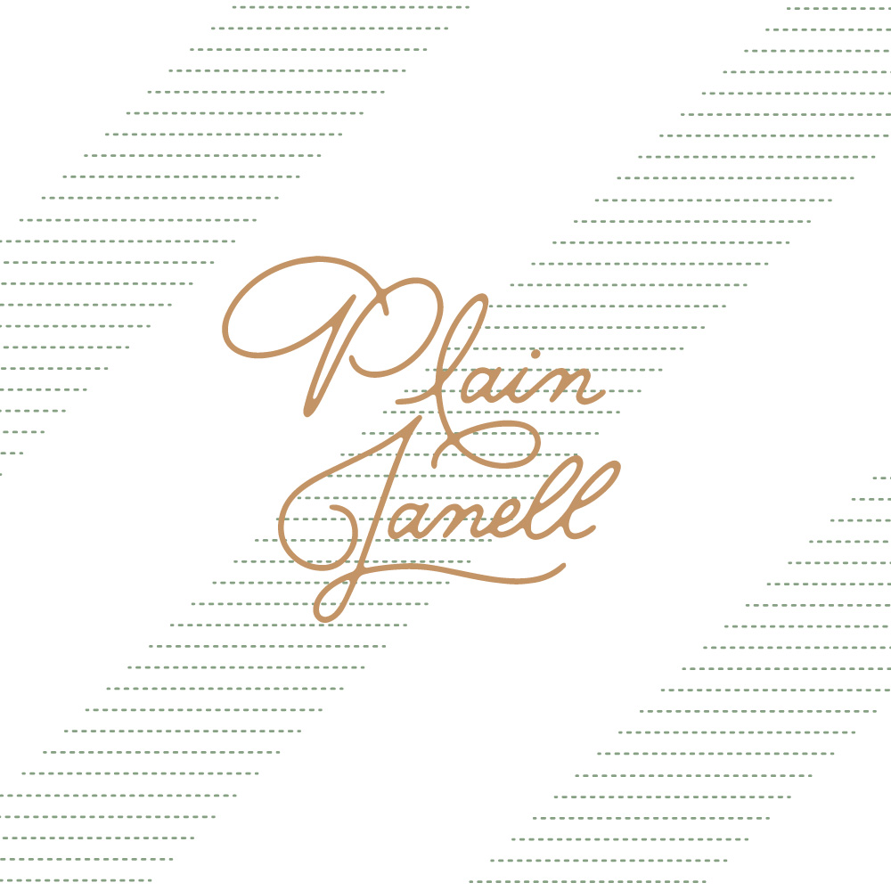 Plain Janell - Logo by Melissa Yeager