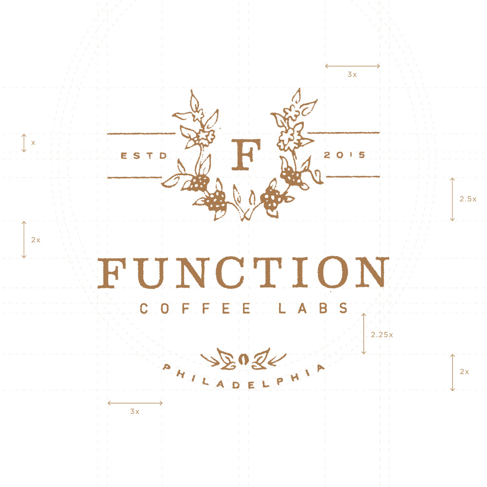 Function Coffee Labs - Logo by Melissa Yeager