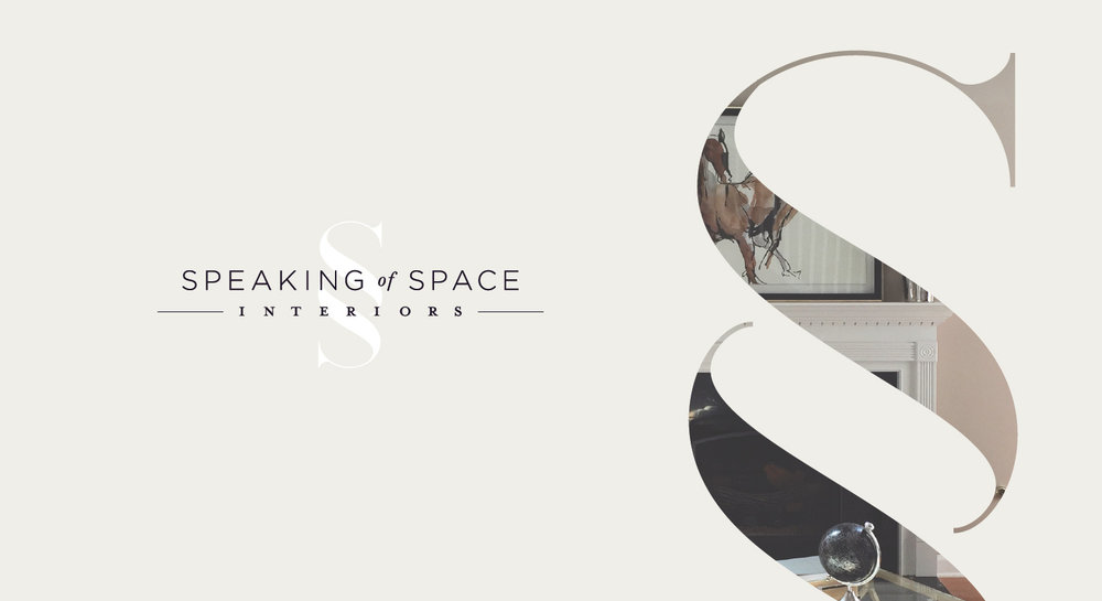 Speaking of Space - Logo & Brand Design by Melissa Yeager