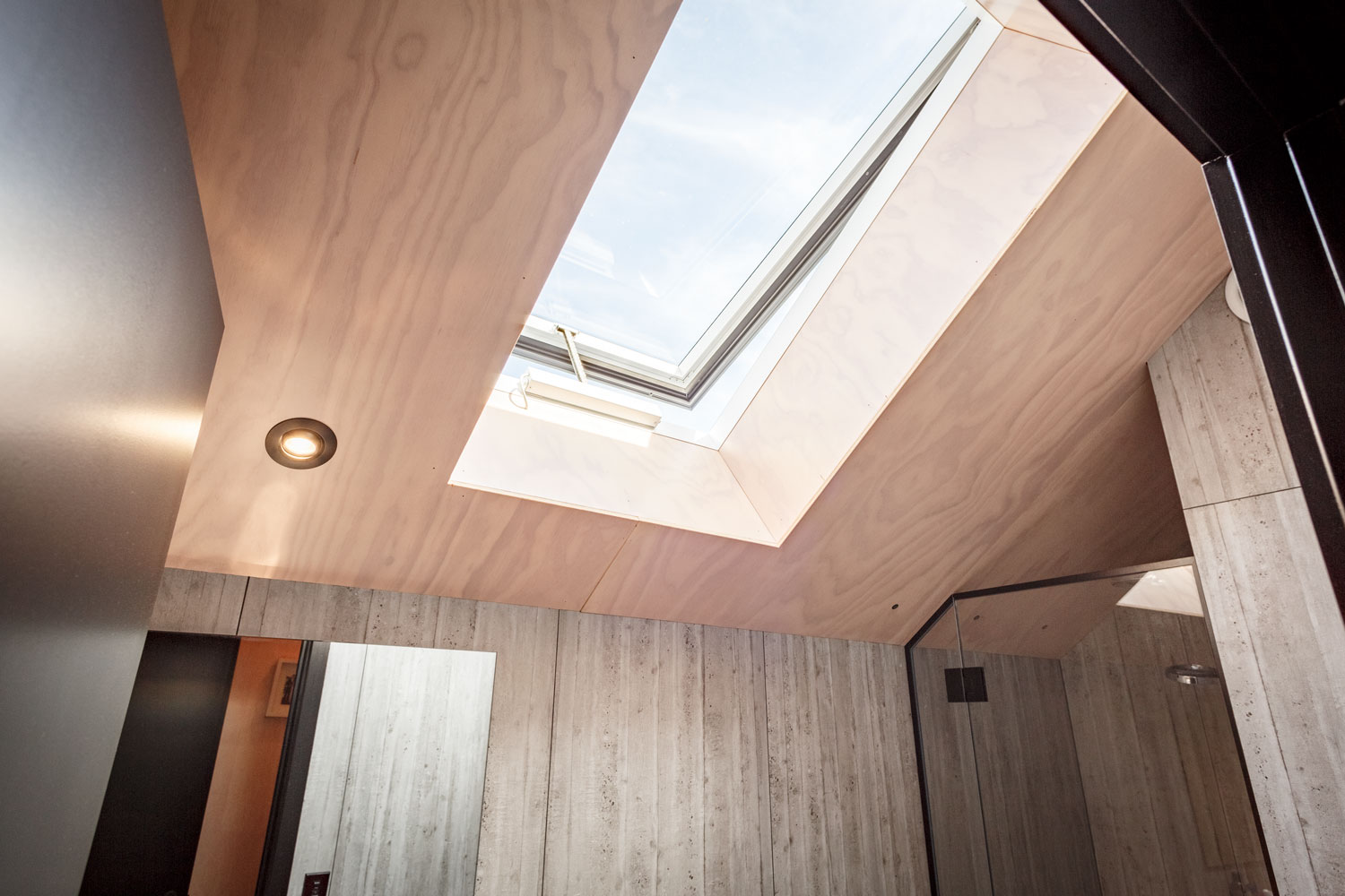 A Light And Airy Plywood Loft