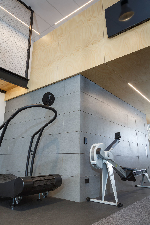 gymnasium walls