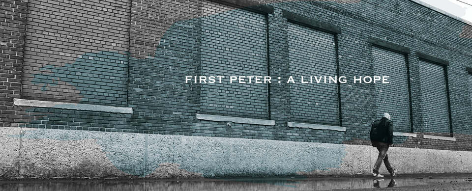 1 Peter: A Living Hope | spring 2016