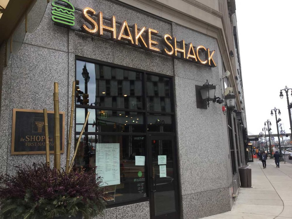 Shake Shack Detroit. Daily Detroit photo.