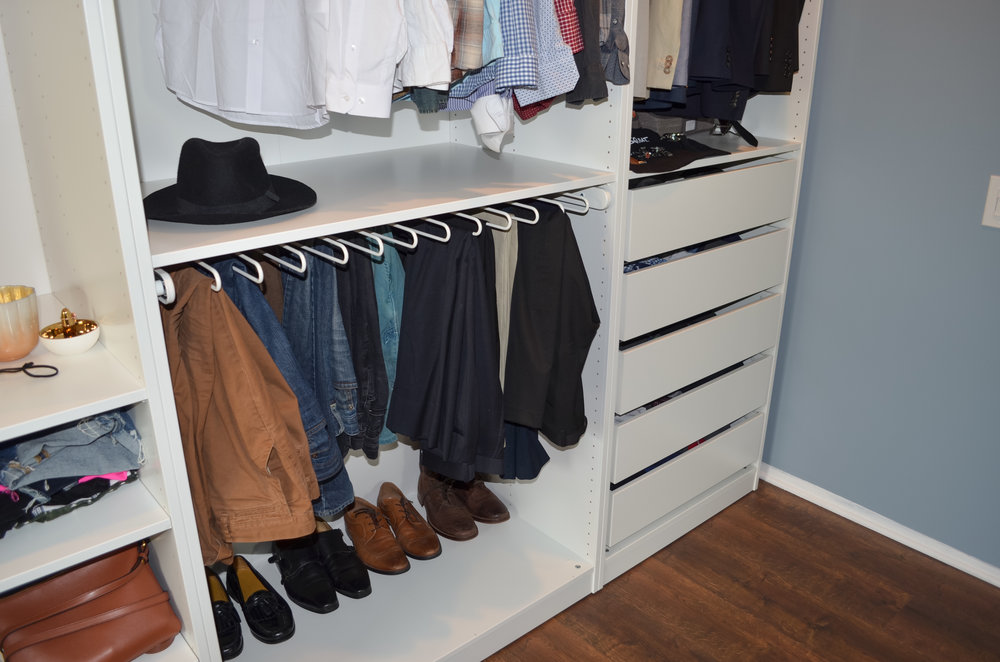 KOMPLEMENT Pull Out Pants Hanger (options White U0026 Black) Perfect For Menu0027s  Suit Or Dress Pants. Gabe Also Uses His For His Jeans And Khakis.