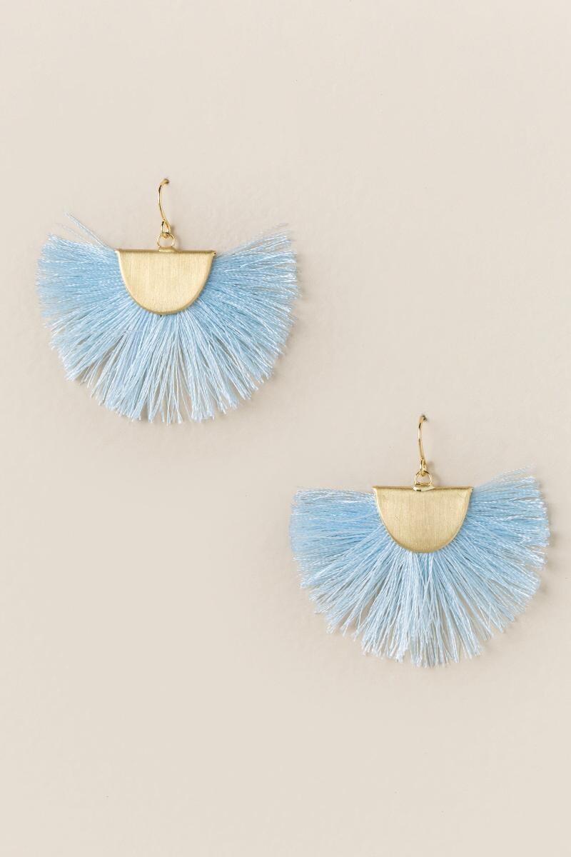 Thalea Fanned Tassel Earrings$16