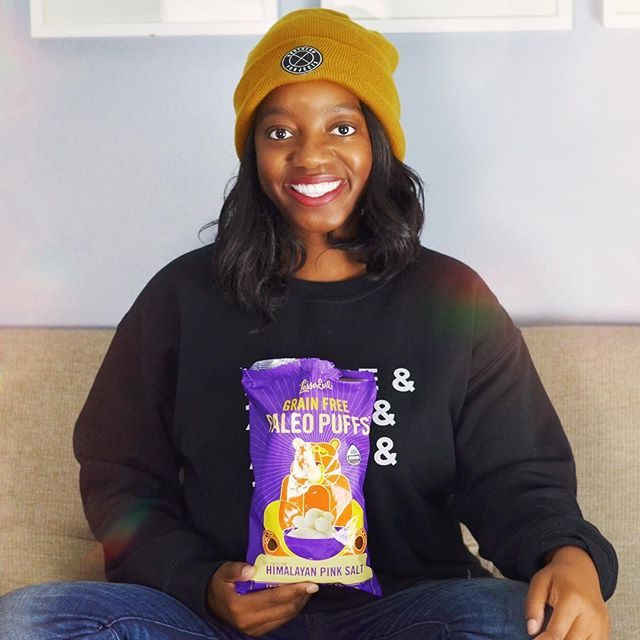 Hey friends! 👋🏾 I know it's been a while! I'm back in school and usually on campus all day which makes it hard to find quick, healthy snacks to take with me on the go. I cannot get enough of these @lesserevilsnacks paleo puffs! They're made with organic cassava, coconut oil and flour 🥥sweet potato 🍠 and a touch of Himalayan pink salt 👌🏾 and best of all for all of us who suffer from food allergies they're certified paleo, grain-free, kosher and vegan! What are some of your favorite, healthy on the go snacks? • • • • • #FeedingHungerWithHeart #Sponsored #PaleoPuffs #LesserEvil #segilolaileke #michigrammers #detroitblogger #detroitvlogger #abmlifeiscolorful #abmlifeissweet #abmlifeisbeautiful #darlingdaily #flashesofdelight #lovelysquares #petitejoys