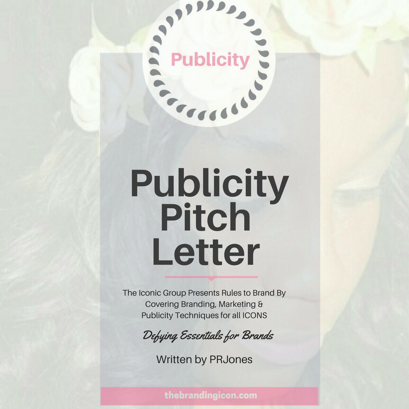 A pitch letter is typically used to highlight your brand, a specific product or moment. They are sent to editors, producers and the like to gain an interview or news article potentially. Pitch letters are not press releases. They serve a purpose to acquire interest in your brand, specifically. Searching online, you will find several examples of how to write a pitch letter. But the most important aspect is to present your story, idea or product from a specific angle. Explain what makes your brand stand out and what separates you from the rest. Dates are also important. Be sure to include a timeline of events (if any) so that the producer/editor will know when to contact you. Speaking of contact, include your information inside of the pitch. If applicable, include other tools to accompany the pitch letter. Maybe a sample of a song of the product. Creativity is a win for this aspect of publicity so be sure to include it as part of your strategy.  For more information about this technique and how The Branding Icon can assist your brand in the many forms of branding, marketing and publicity, please email info@thebrandingicon.com  or visit my website  www.thebrandingicon.com . Interested in booking a branding session check out my session info  here    Join my new  brand  support group on Facebook:  Icons Only: Brands That Ignite  and also like my page  The Branding Icon