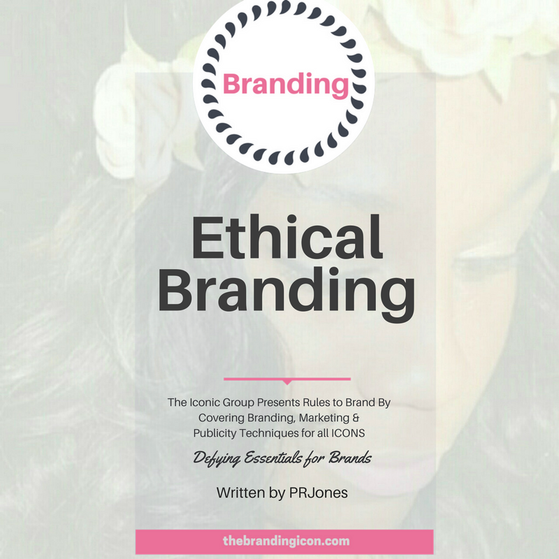 The idea of Ethical Branding came about in 1980 Europe. Ethical Consumerism was the notion at hand that implemented the less than 5% segment of customers that represent the western markets. The general idea behind this sort of branding is to represent fair deals behind all trades. Consumers tend to expect brand initiatives always to be present and up to par. Ethics in Branding simply refers to those brands that maintain a certain level of business and brand affinity and consumer loyalty. Remaining consistent for the greater good.    For more information about this technique and how The Branding Icon can assist your brand in the many forms of branding, marketing and publicity, please email info@thebrandingicon.com  or visit my website  www.thebrandingicon.com . Interested in booking a branding session check out my session info  here    Join my new  brand  support group on Facebook:  Icons Only: Brands That Ignite  and also like my page  The Branding Icon