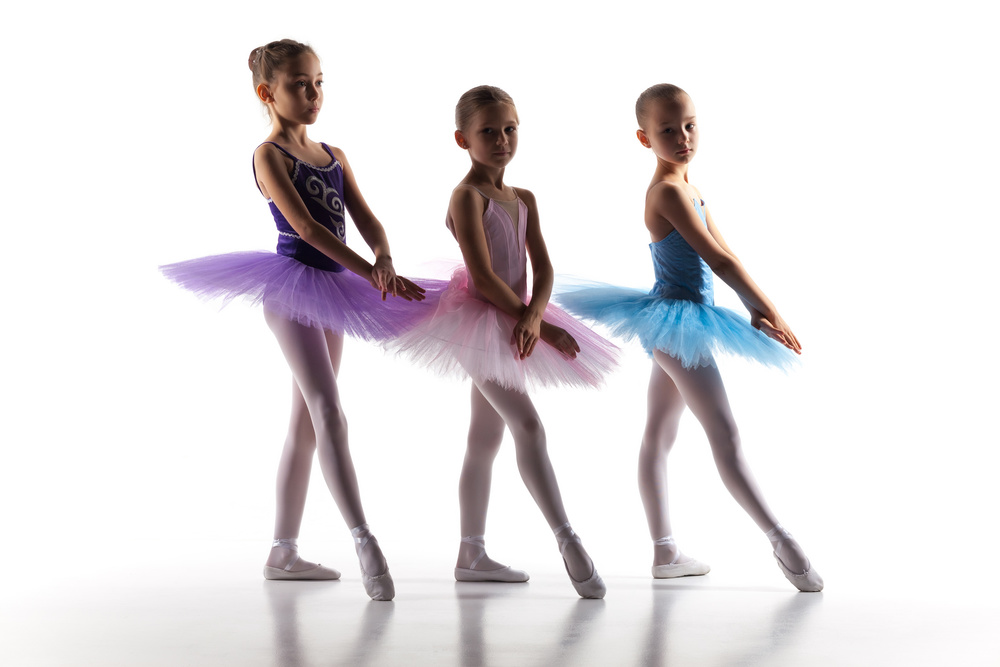 our dance classes produce a love of classical ballet.