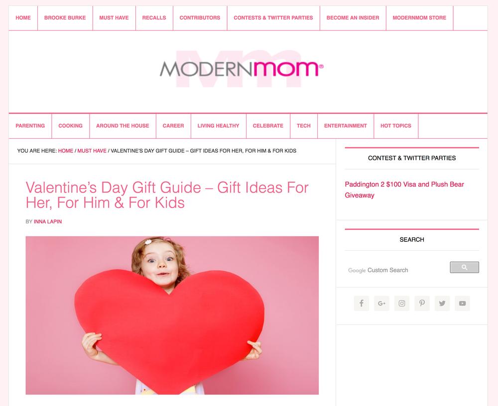 Brooke Burke Modern Mom Website Gift Guide Zenzee