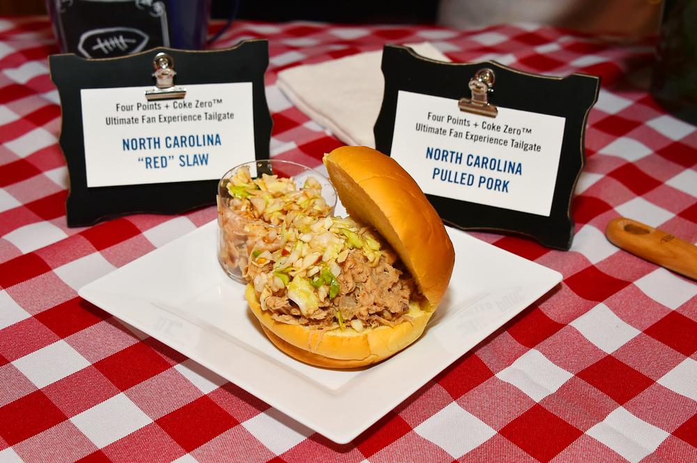 Elizabeth Karmel's North Carolina Pulled Pork & Red Slaw