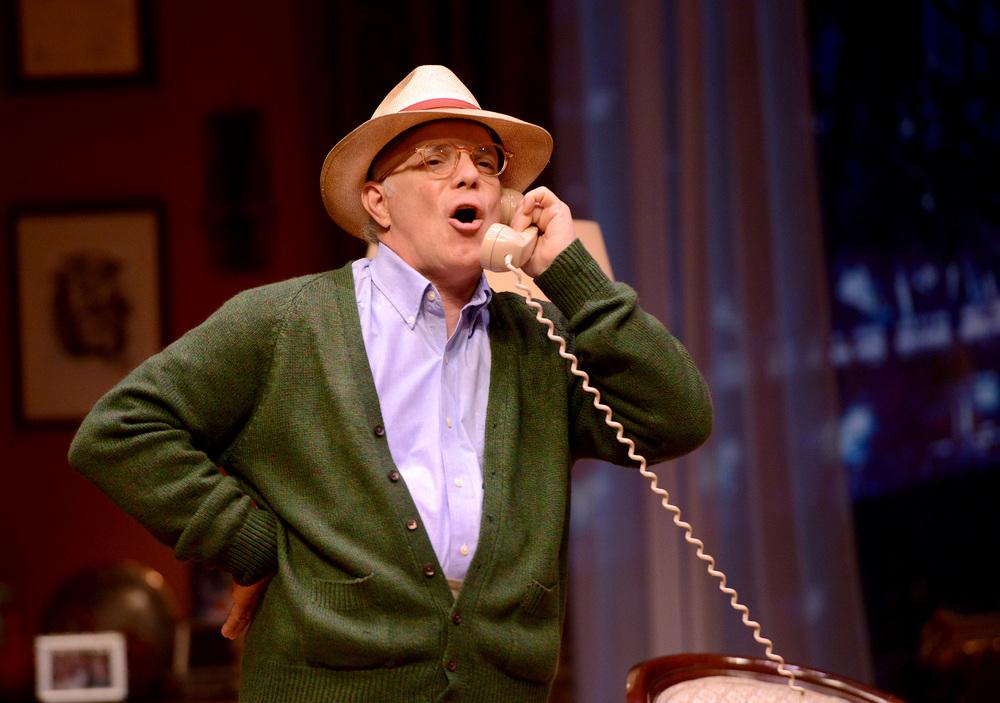 Eddie Korbich plays Truman Capote.