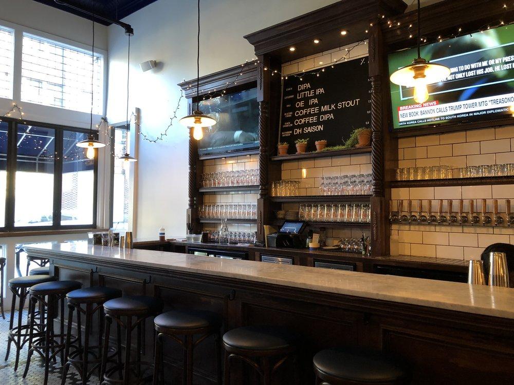 Cinderlands Bar Area