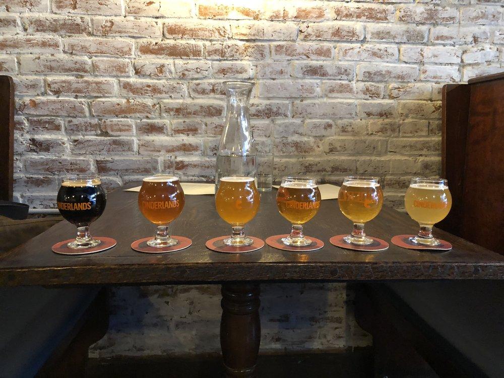 beer tasters Cinderlands