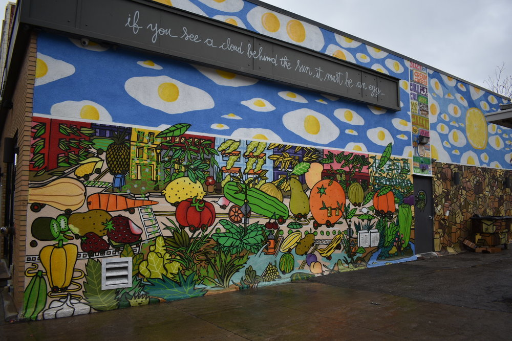 Mural by the West Side Market