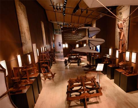 Da Vinci The Exhibition photo via website